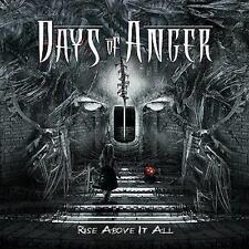 Days of Anger - Rise Above It All CD 2013 digi thrash Sweden Coroner Records