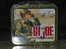 Gi Joe Action Soldier - Metal Lunch Box Tin filled w/candy Mip