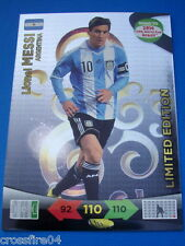 Panini Adrenaly Road to World Cup 2014 Brazil Limited Edition Lionel Messi