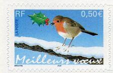 FRANCE 2003, timbre Autoadhésif 3622 ( 37 ), OISEAU ROUGE GORGE, neuf**