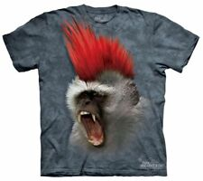 The Mountain 100% Cotton Kid's T-Shirt - Ape Mohawk S NWT