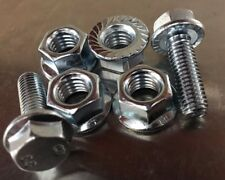 Flange Bolts and Nuts Deal M6 M8 M10 450 Piece Assortment M6 x 20 M8 x 25 M10x30