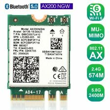 For Intel Ax200 WiFi 6 Ax200Ngw WiFi Network Card 802.11ax Mu-Mimo 160Mhz Bt5.0