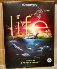 Life (DVD, 2010, 4-Disc Set) Narrated by Oprah Winfrey BBC Discovery Like New