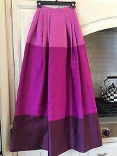 Temperley maxi full length ball skirt, US sz 2 PINK fully lined elegant