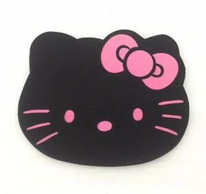 Black Hello Kitty mouse mat