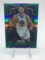 2019-20 Panini Prizm  SP Klay Thompson Green PRIZM #209 Warriors