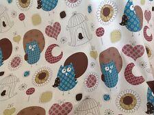 Print Fabrics (Owls and moon) per metre