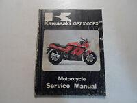 1985 Kawasaki GPZ1000RX Motorcycle Service Repair Shop Workshop Manual x 1985