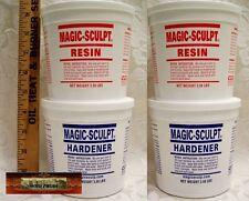 M02052x2 MOREZMORE 10 lb WHITE Magic Sculpt Sculp Epoxy Clay Model Putty