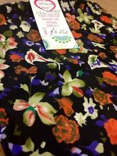 Georgette Flowers & Plants Fabric Crafts