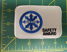 New Sew On Patch - Air Log Safety Award Patch - Embroidered Patch