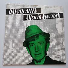 """Daevid Allen Gong-Alien in NEW YORK Vinyl 12"""" 4 tracks ep Single UK 1983"""