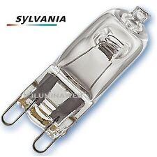 10 Bombilla Ahorradora SYLVANIA HI-PIN G9 53w=75w ECO Halogena Bajo consumo