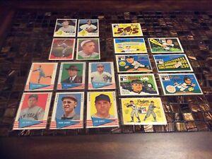 1960s Fleer Baseball Lot (18): Babe Ruth, Cy Young, Lefty Gomez