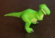 "Toy Story T Rex Disney Pixar PVC figure 5"" Long collectible cake topper toy GUC"