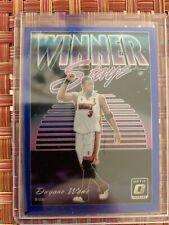 Dwyane Wade 4/85 Winner Stays Blue Miami Heat Optic