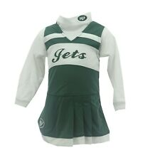 New York Jets Official NFL Baby Infant Toddler 2 Piece Cheerleader Outfit New