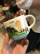 New Starbucks 2018 China YAH Puer City You Are Here 2oz Ornament Mug 1pc