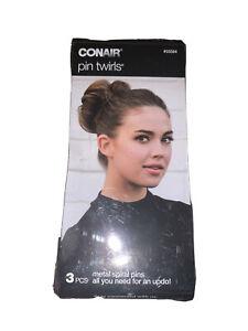 Conair Pin Twirls Metal Spiral Pins 3PCS #55584