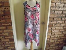 TS (Taking Shape) Crinkled Material Shift Dress sz 16