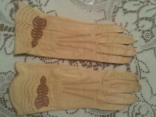 Antique Vtg Soft Leather Gloves for Small Hands or Teen