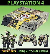 PS4 Autocollant Peau FIFA 17 FOOTBALL MARCO REUS + Manette Décalques VINYL LAID