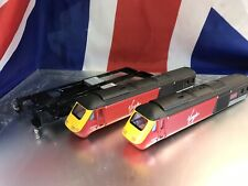 Hornby 00 Class 43 HST Virgin Locomotive and dummy Body Shells Only Vgc !!!