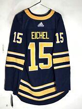 adidas Authentic Adizero NHL Jersey Buffalo Sabres Jack Eichel Navy sz 46