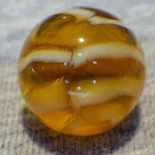 "BB Marbles: Vitro Agate Co. 8-Finger Ribbon. 9/16"". Mint.  (B239)"