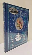 PETER PAN by Barrie ~Sealed Bonded Leather Hardcover ~ Illustrated ~ BRAND NEW ~