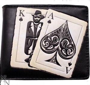 Nemesis Now Men's Wallet Vegas Playing Cards