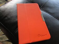 GearIt Samsung Galaxy TAB 4 7.0 TABLET 360 Rotating Case Book HARD Cover ORANGE