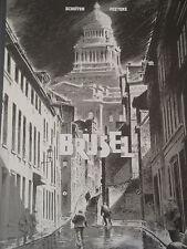 F. Schuiten & B. Peeters Les cités obscures « Brüsel » Tirage de tête