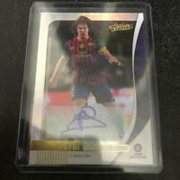 Carles Puyol Autograph 2019-2020 Panini Absolute Soccer Card FC Barcelona