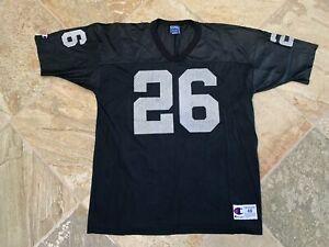 Vintage Oakland Raiders Napoleon Kaufman Champion Football Jersey, Size 48, XL