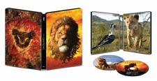 LION KING STEELBOOK 4K ULTRA HD BLU-RAY + DIGITAL CODE ULTRAHD THE LIMITED