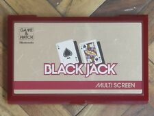 Nintendo Game & Watch Multi Screen BJ-60; Black Jack (1985)
