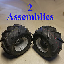 """18x9.50-8 TIREs RIMs WHEELs ASSEMBLY Garden Tractor Riding Mower 3/4"""" Shaft P28"""