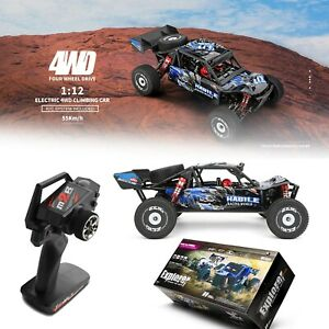 Wltoys 124018 RC Racing Car 60km/h 1/12 2.4GHz Off-Road Drift RTR 4WD Gift U9