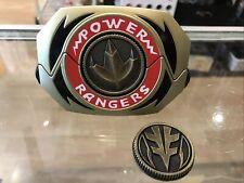 Mighty Morphin Power Rangers Legacy Morpher Green White Ranger Edition + 2 Coin