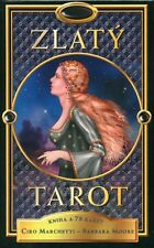 Zlaty Tarot, Gilded Tarot deck with gilded edges, CZECH EDITION, brand new!