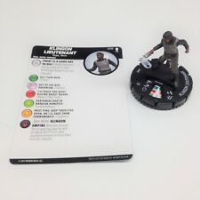 Heroclix Star Trek Away Team set Klingon Lieutenant #008 Common figure w/card!
