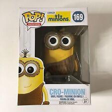 NEW Funko Pop! Movies Minions Cro-Minion Vinyl Figure #169 Despicable Me