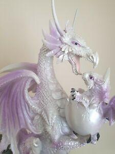 Resin Figurine Ice Mother Fantasy Winter Warrior Dragon Figurine Unique Gift UK