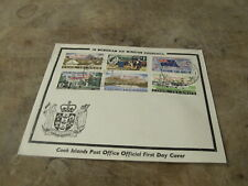 1965 First Day Cover/ FDC - Cook Island - Winston Churchill memoriam over print
