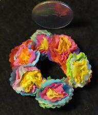 Fiesta Wreath San Antonio Tx Mexican Folk Style Paper 1:12 Miniature Ooak #7971