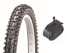 Bicycle Tyre Bike Tire - Mountain Bike - 24 x 1.95 - With Schrader Tube