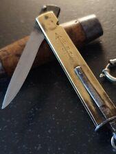 Superbe couteau ancien tonneau Morutier Suedois Johan ENGSTRÖM 1874 ESKILSTUNA S