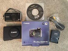 Canon PowerShot SX230 HS 12.1MP Digital Camera - Black(16GB memory card included
